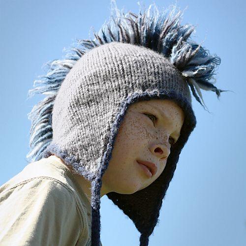 Mohawk Hat Fun And Easy Done Pinterest Mohawks Knit Crochet