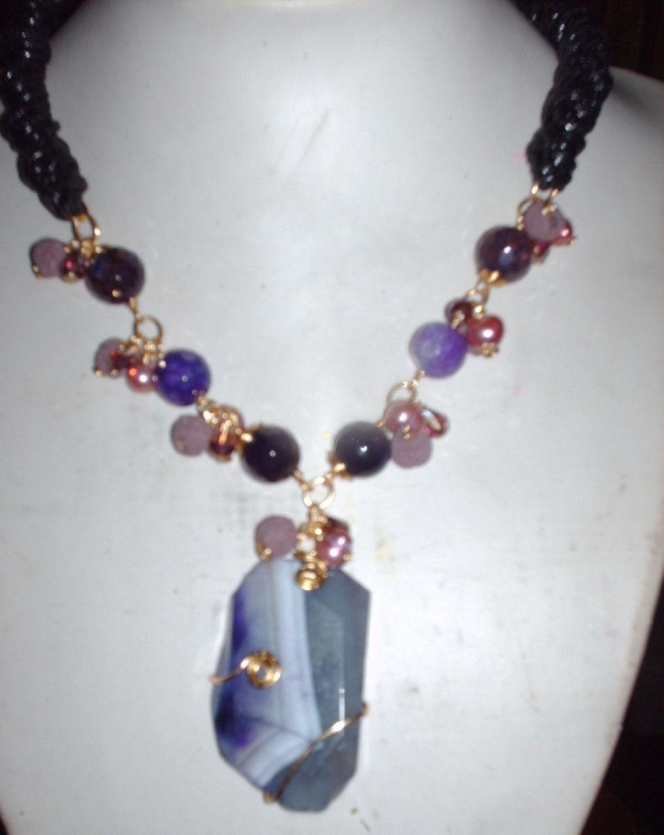 1c475f54fefd Collar piedras naturales