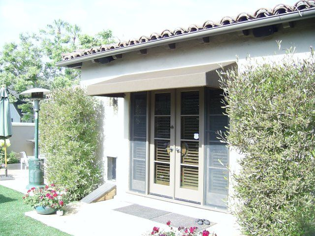 Awning For French Doors Sun And Rain Protection French Doors Awning Door Awnings