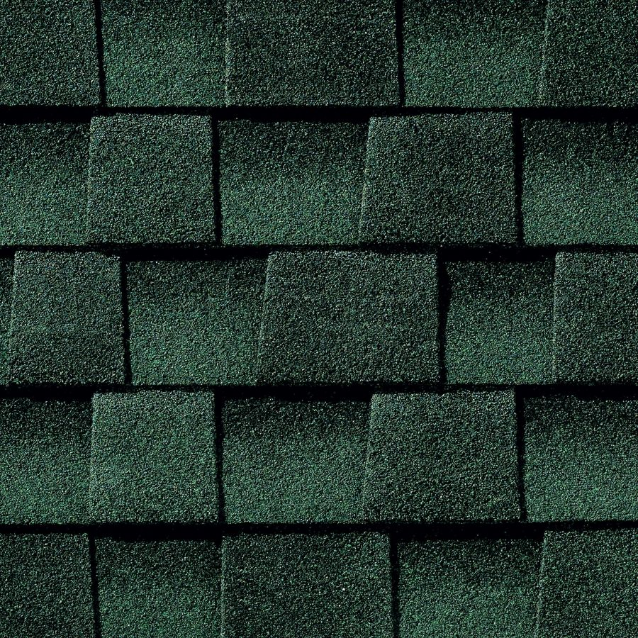 Shop GAF Timberline HD 33.33-sq ft Hunter Green Laminated Architectural Roof Shingles at Lowes.com
