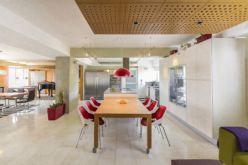 neat modern apartment Hobby Influences Interior