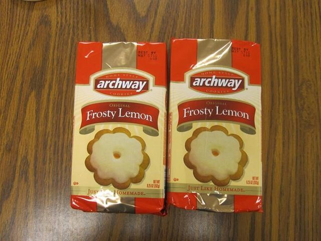 Archway Lemon Cookies - Oatmeal Raisin Cookies