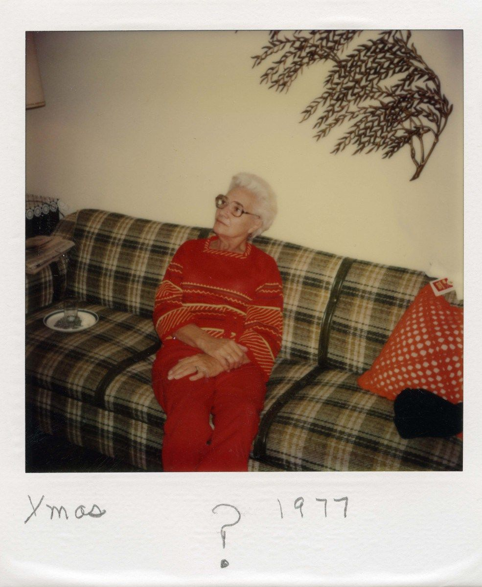 from Found Polaroids collected, archived, curated and