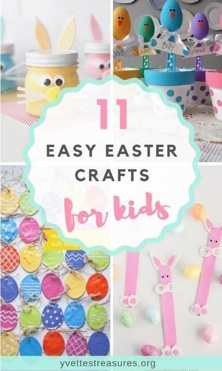 Wonderful Easter craft ideas for kids. These easy Easter bunny crafts are our favorites. #artsandcrafts #easter #holidays #eastercraftspreschoolers #bestideasforkids