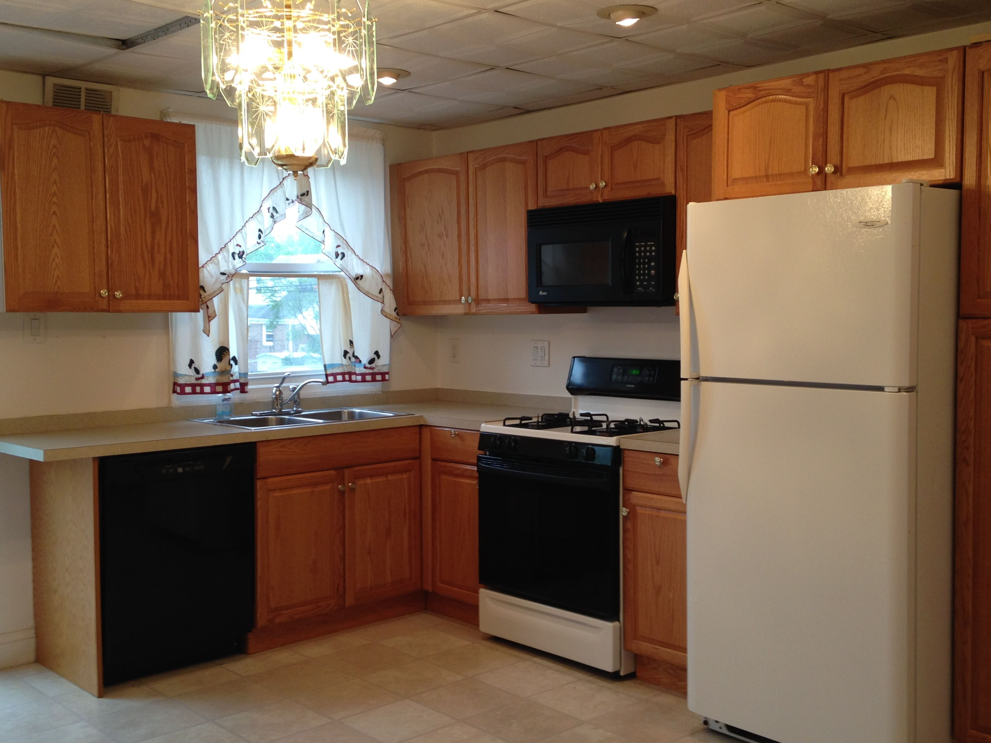 Love this kitchen in 611 Michell St. In Ridley, PA!  Contact me to preview, 610-656-5105