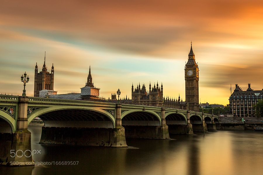 Big Ben sunset by antoinebuchet