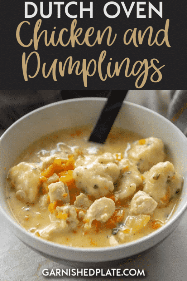 Dutch Oven Chicken and Dumplings