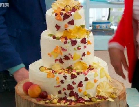 Great British Bake Off Final Frances Wedding Cake Finals Woman And Home