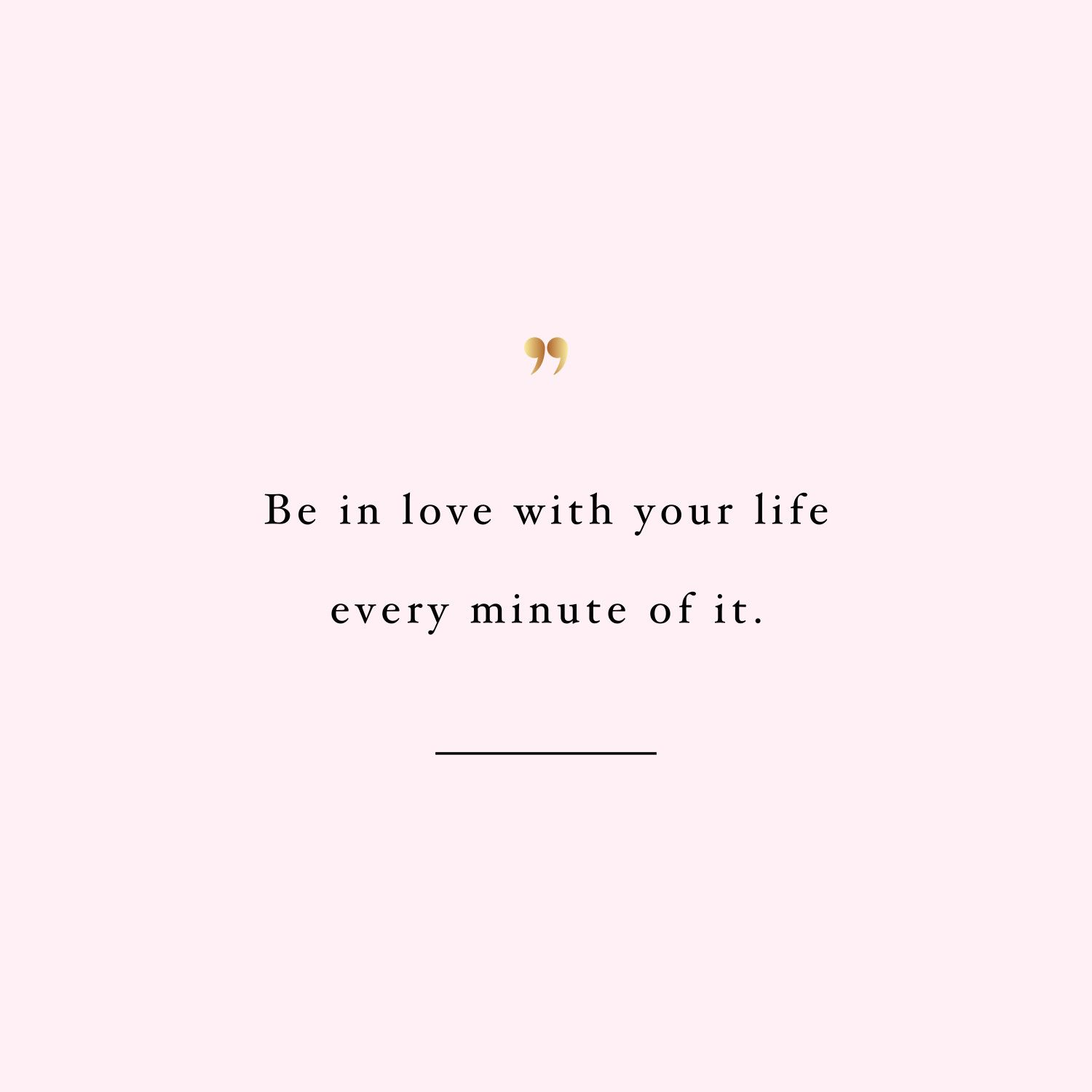 Be In Love With Your Life! Browse Our Collection Of Inspirational Training  And Weight Loss Quotes And Get Instant Wellness And Fitness Motivation.