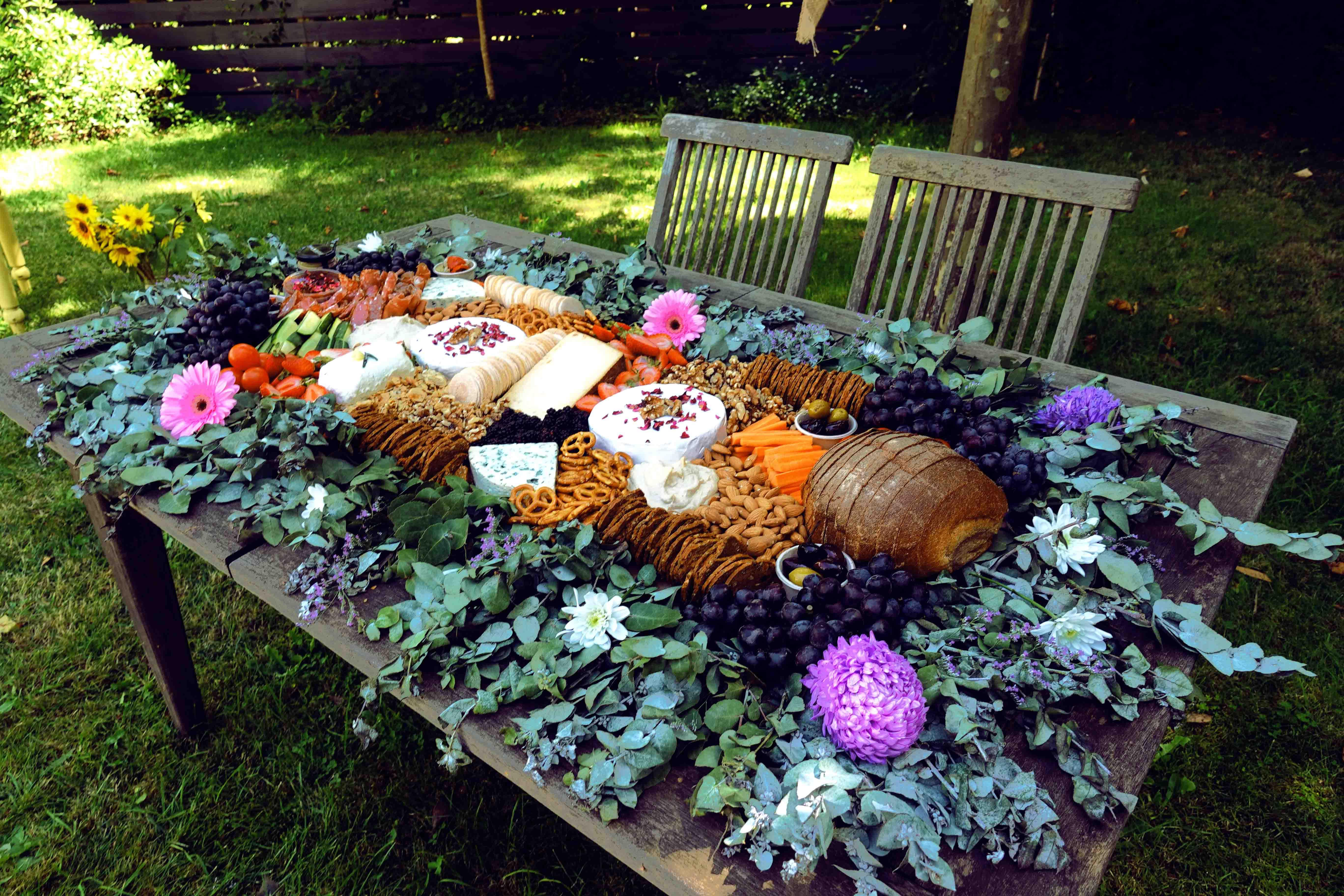 Grazing Tables For Weddings And Events Melbourne And Daylesford Picnic Catering In 2020 Grazing Tables Wedding Platters Wedding Catering