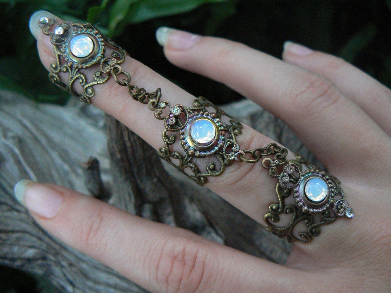 Triple Armor Ring, Bohemian Chic ring ,Claw ring