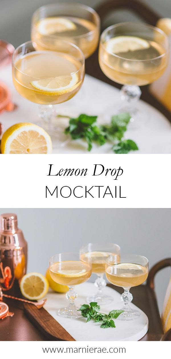 Lemon Drop Mocktail