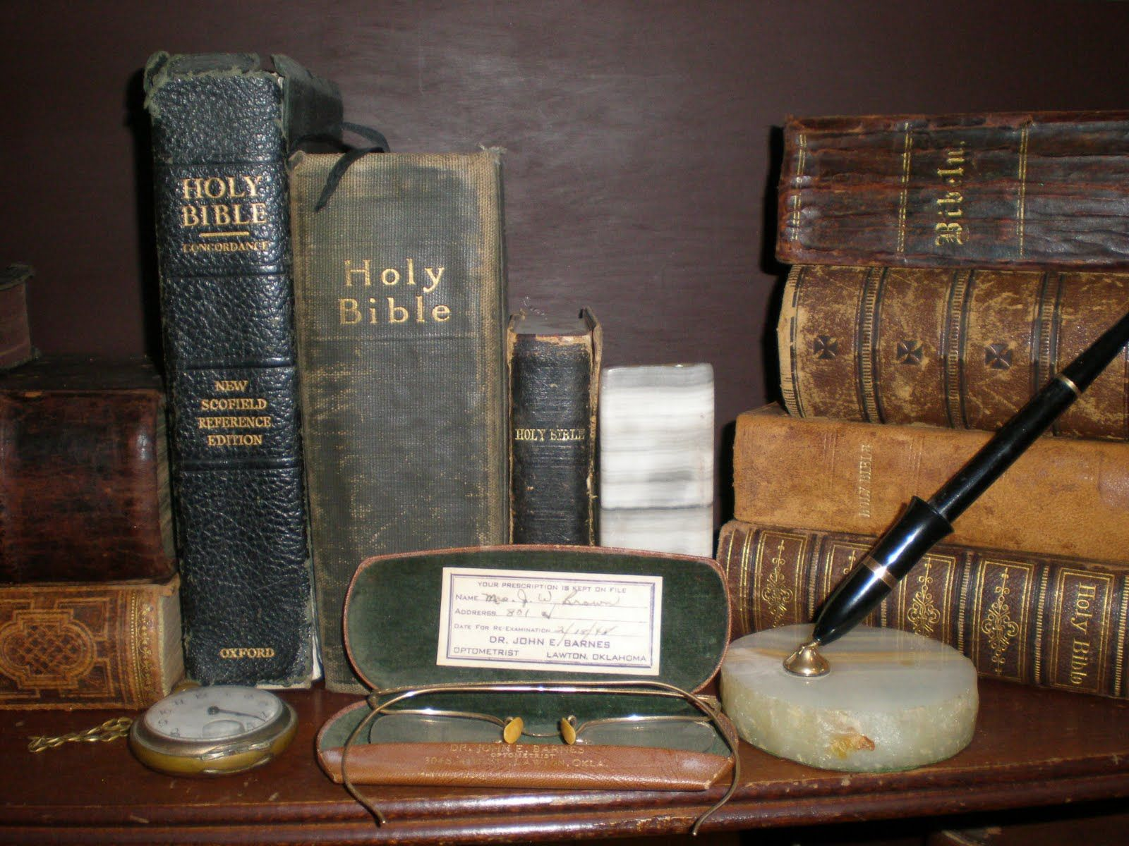 Vintage Bibles Love