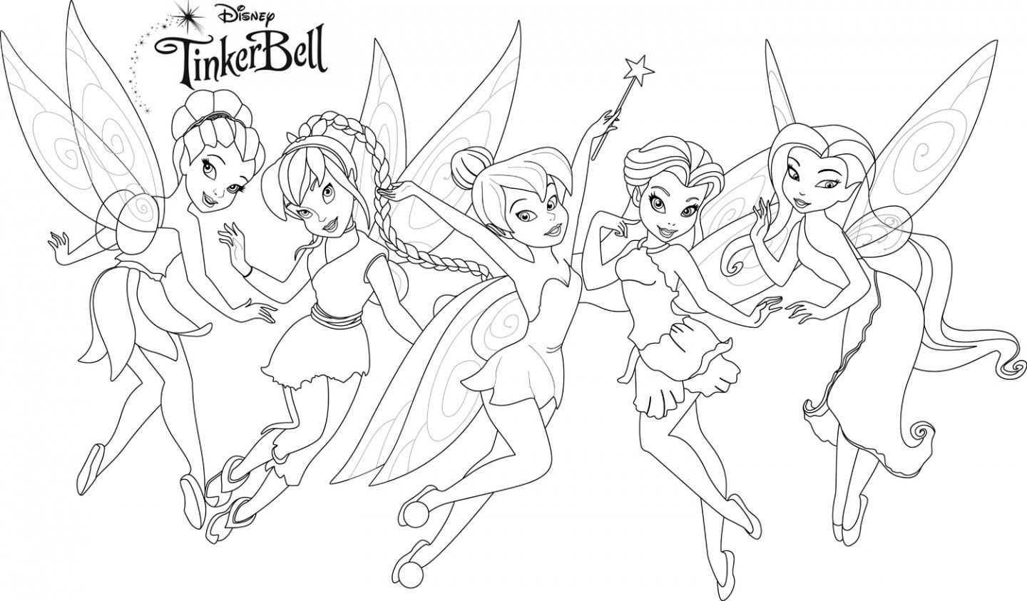 coloring pages : Peter Pan Coloring Pages Luxury Free Tink ... | 843x1440