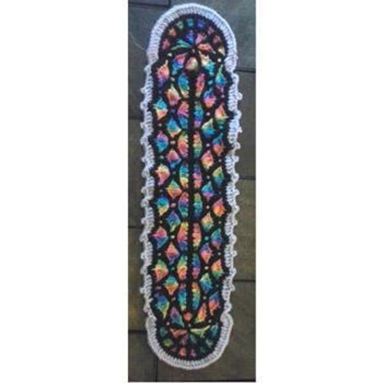 Stained Glass Round Church Window Panel Craftsy Church