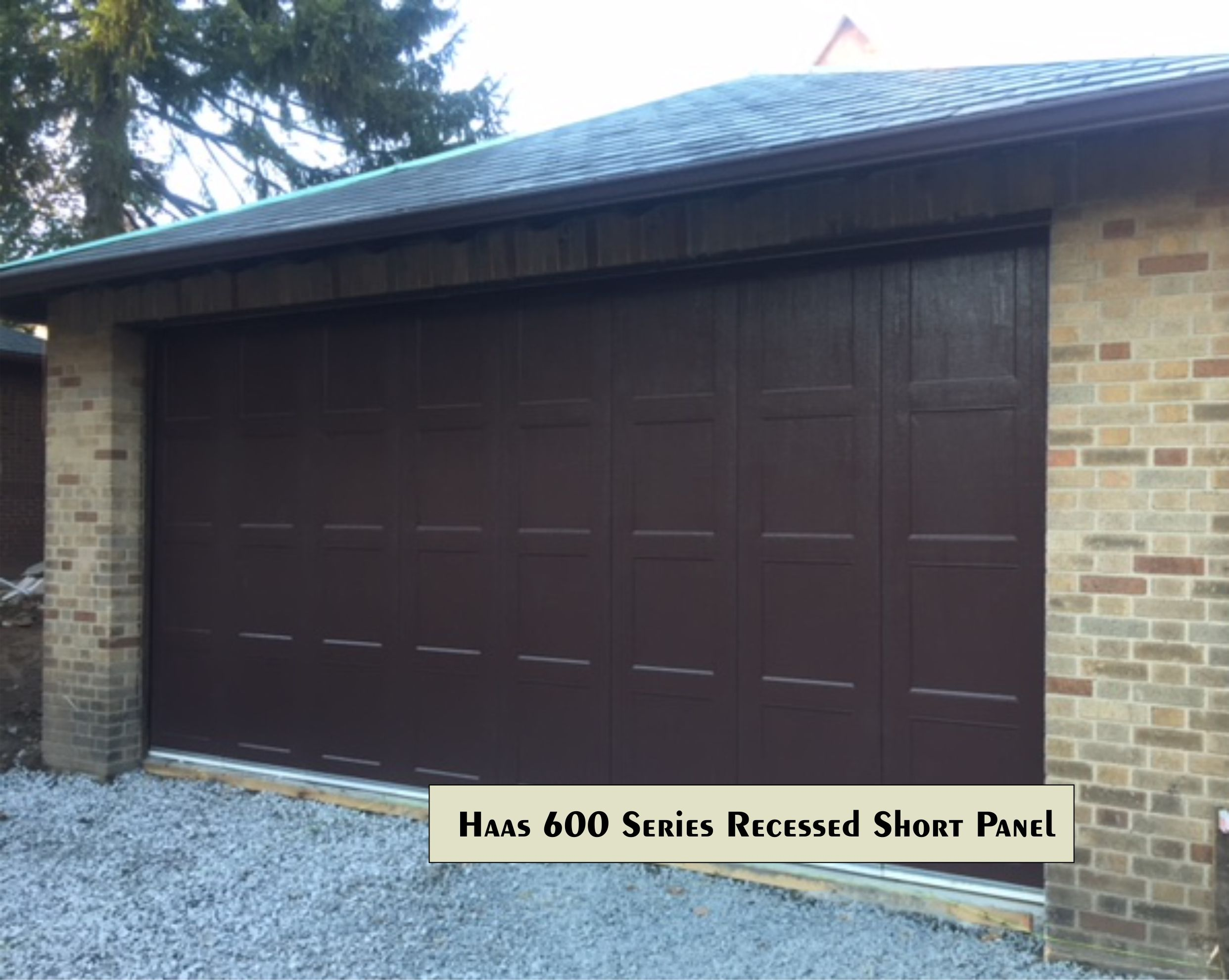 Garage Design Canada An Example Of A Traditional Recessed Panel Horizontal Garage Door