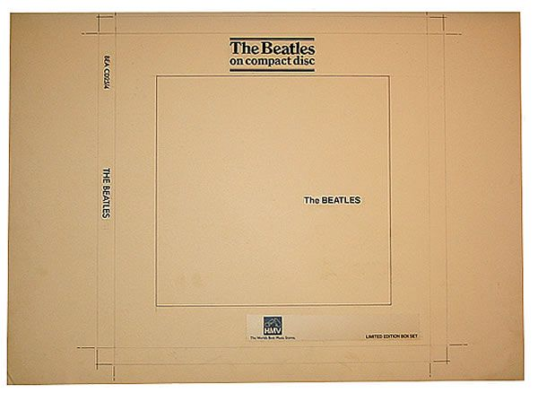 The Beatles The Beatles Hmv Box Uk Artwork 426775 The White Album Artwork Album Art