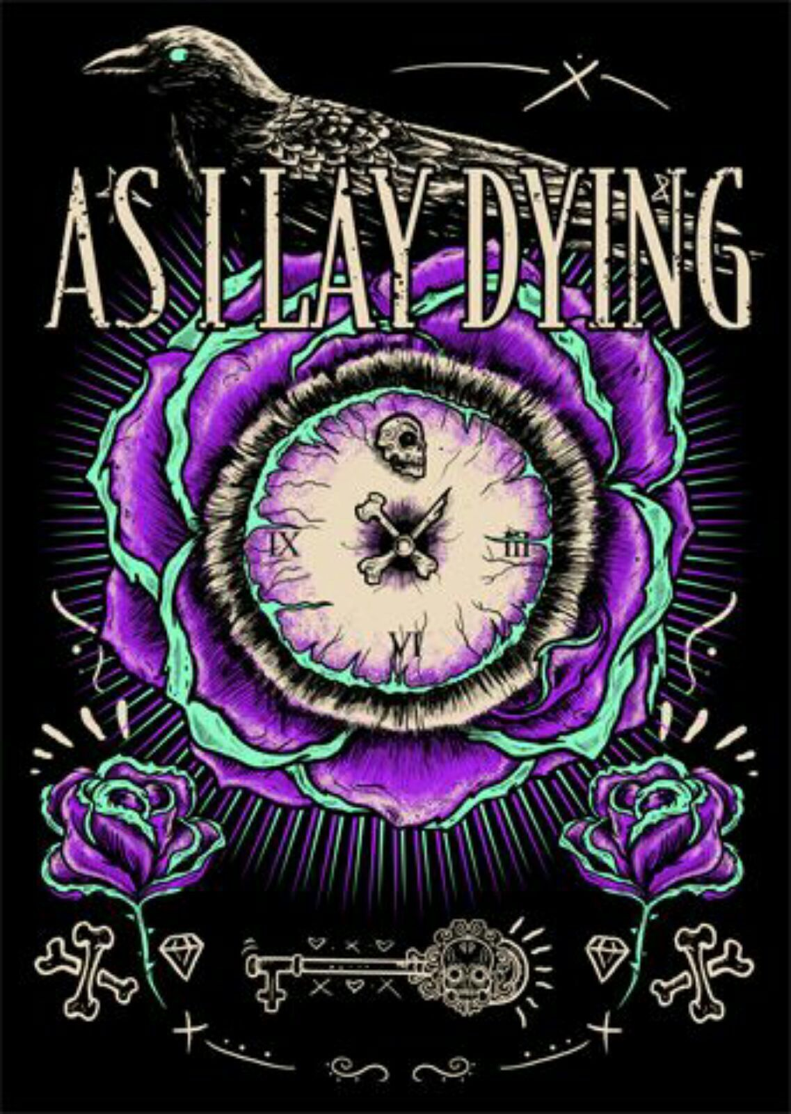 Pin By Laughing Carly On Music As I Lay Dying Metal Posters Art