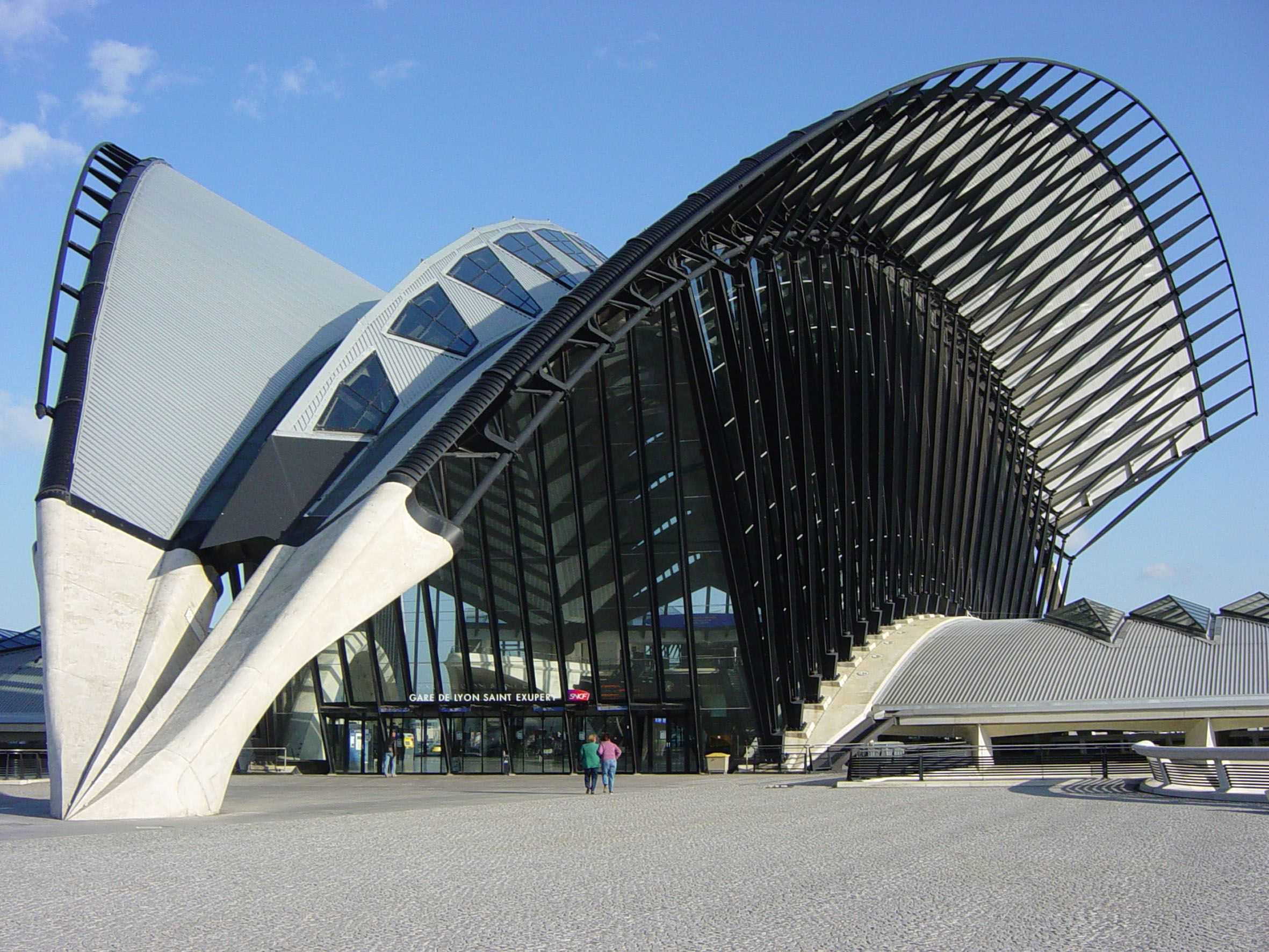 saint exupery tgv station santiago calatrava lyon france calatrava pinte. Black Bedroom Furniture Sets. Home Design Ideas