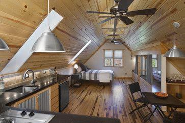 Garage Apartment Design Ideas Pictures Remodel And Decor Above Garage Apartment Garage Apartment Interior Attic Apartment