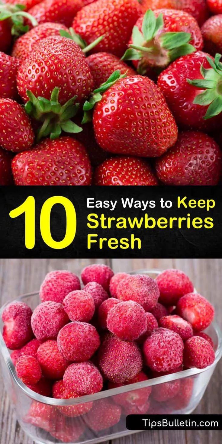 how to freeze fresh strawberries and raspberries