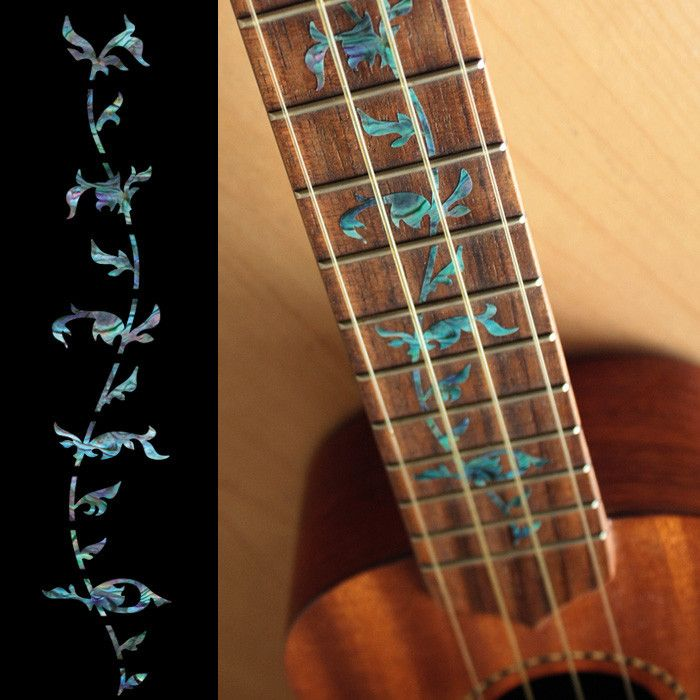 ... Playing Card Fret Markers Inlay stickers Decals Guitar