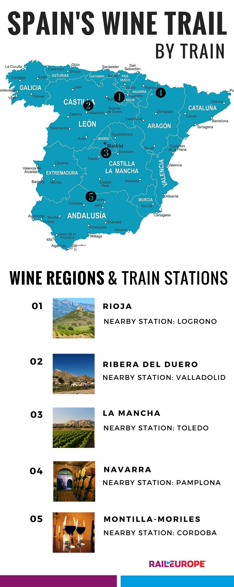 Ever Wanted To Take A Wine Trip Through Spain Here Are Some Of The