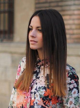Two Tone Medium Length Hair