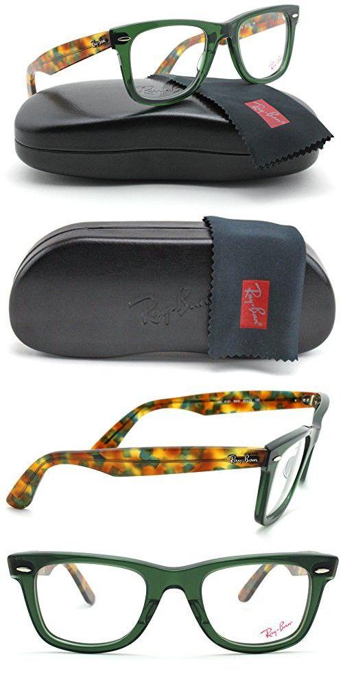 Ray-Ban RX5121 Classic Wayfarer Unisex Eyeglasses (Opal Green Frame ...