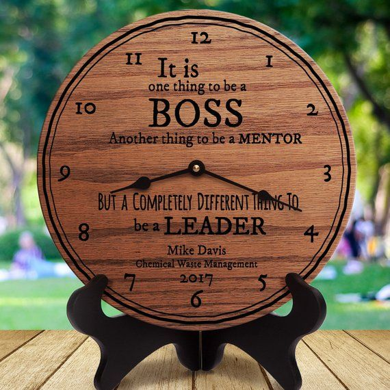 Wedding Gift For Boss: Personalized Boss Gift