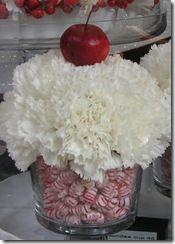 Christmas Cupcake centerpiece