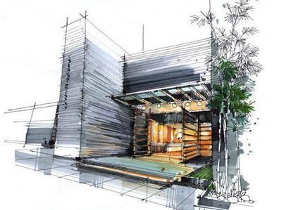 architectural hand drawings. Hand Made Drawings Are Still The Best Art In Architecture - Admirers Architectural W