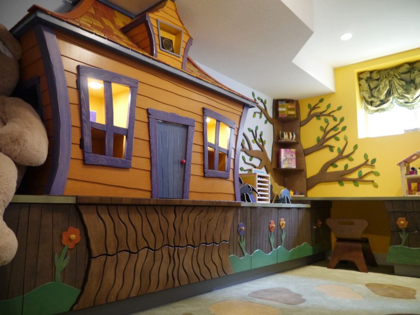 Interior Design Of Kids Playroom Interior Design From Straight Line, And  House Design Kids Playroom Interior Design From Straight Line