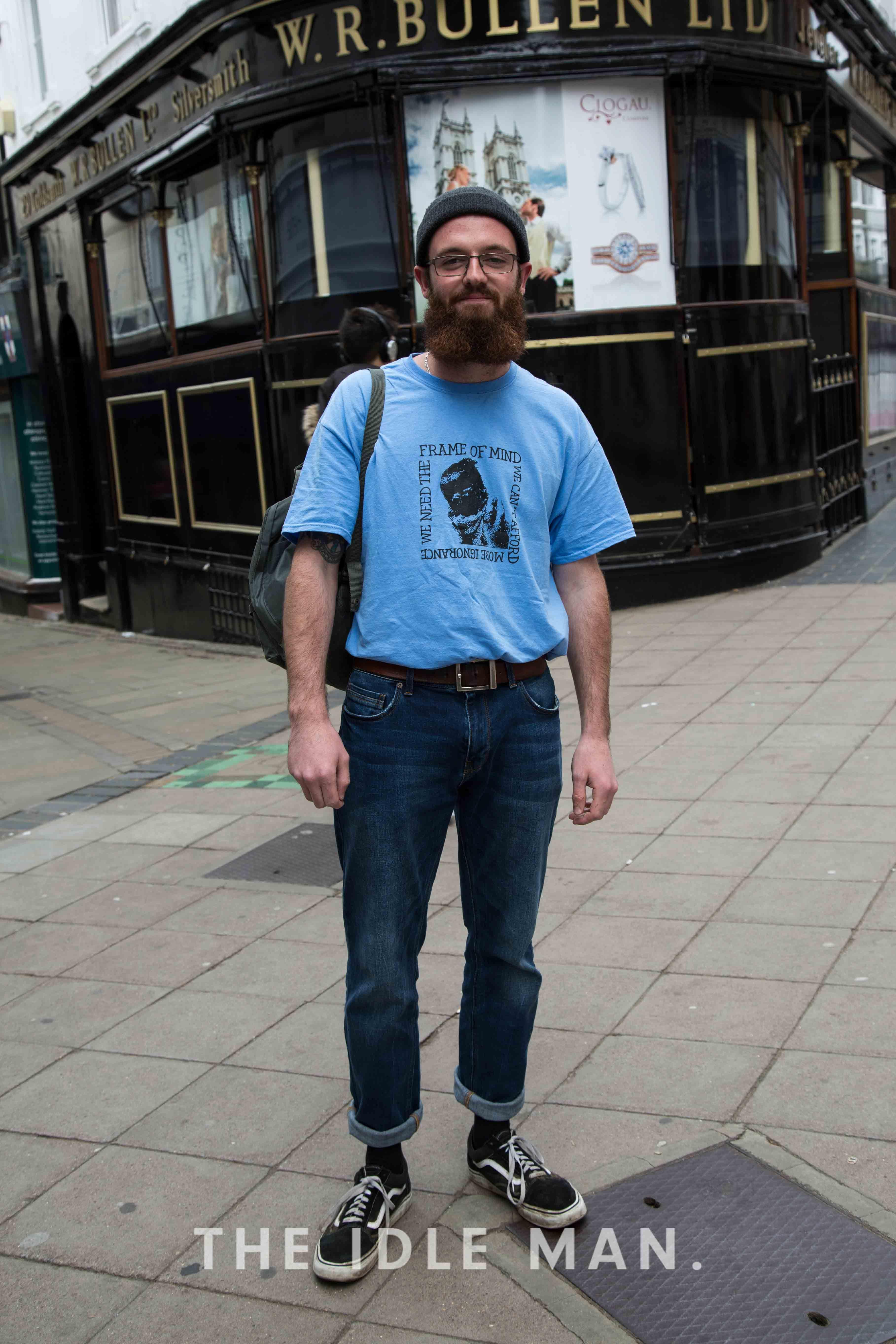 Men's Street Style | Old Skool This vintage old skool look