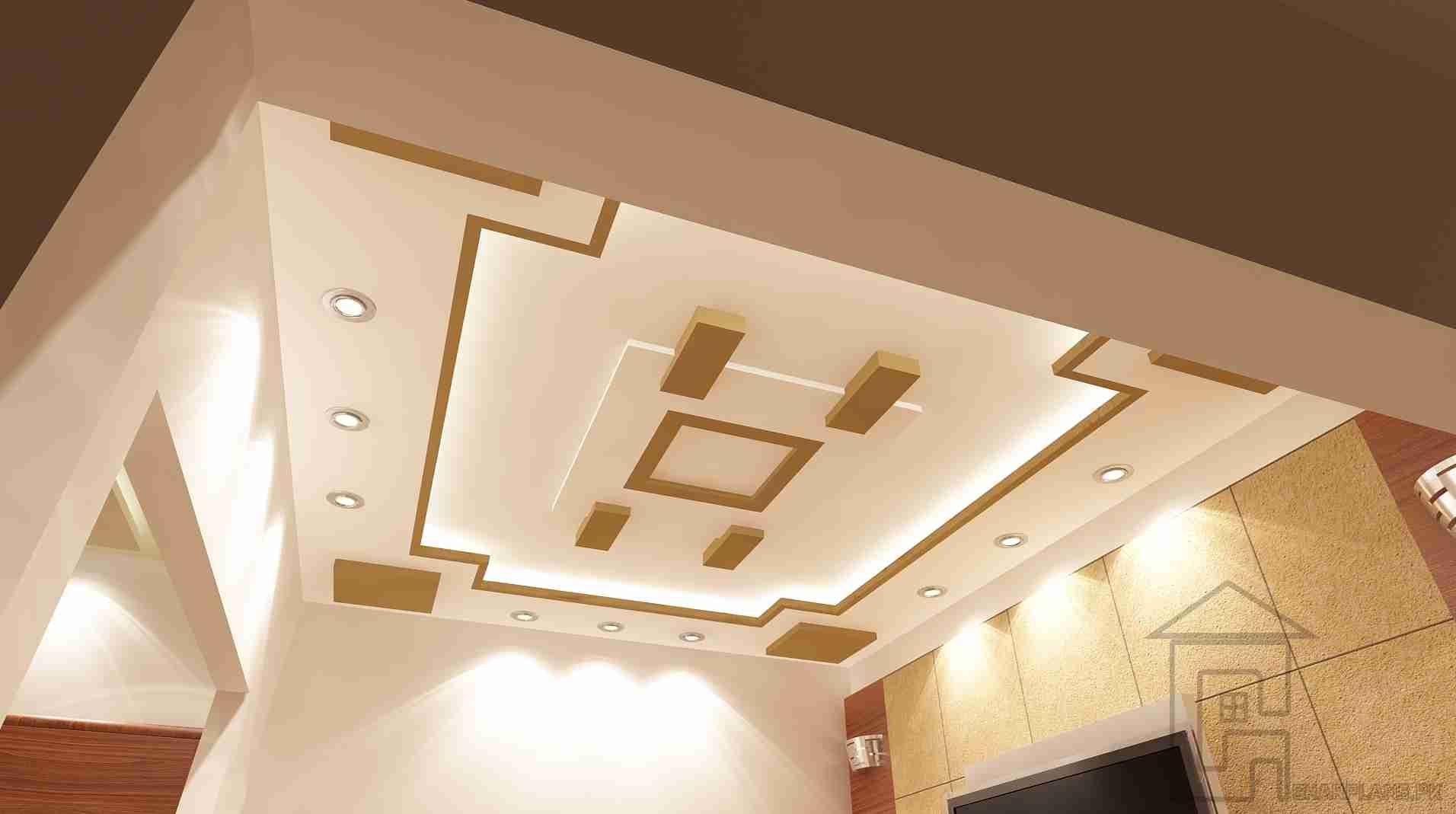 Fall Ceiling Design | Gharplans.pk | Ceiling design ...