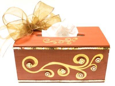 Decorative Tissue Box Cover Fall Decor Diy Fall Tissue Box Holder  Tissue Box Holder Tissue