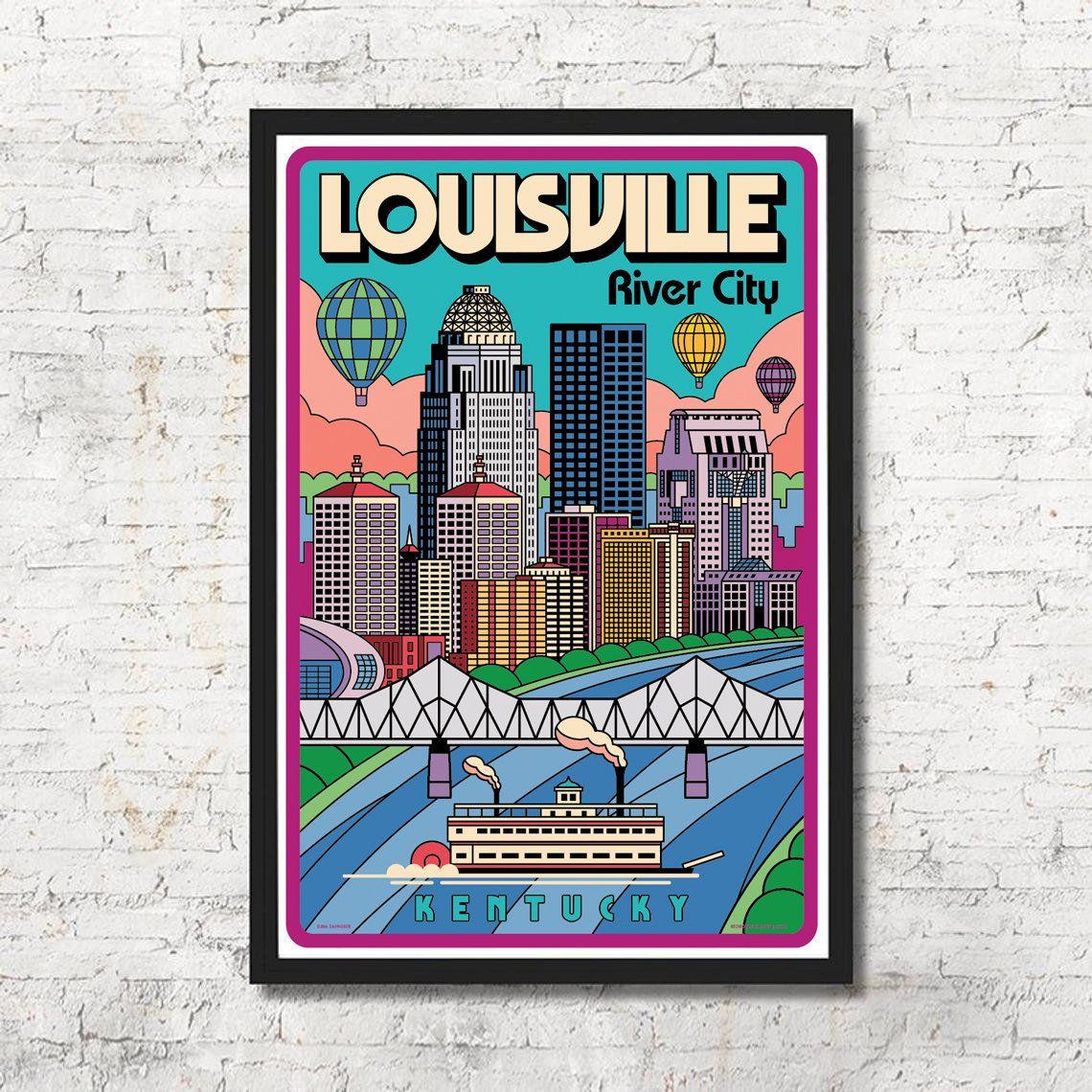 louisville poster louisville wall art