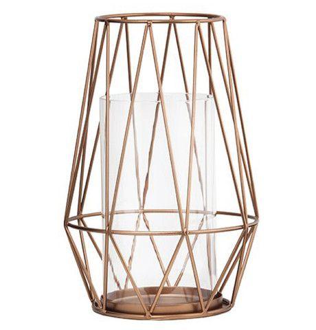 general eclectic wire hurricane lantern copper design rh pinterest com