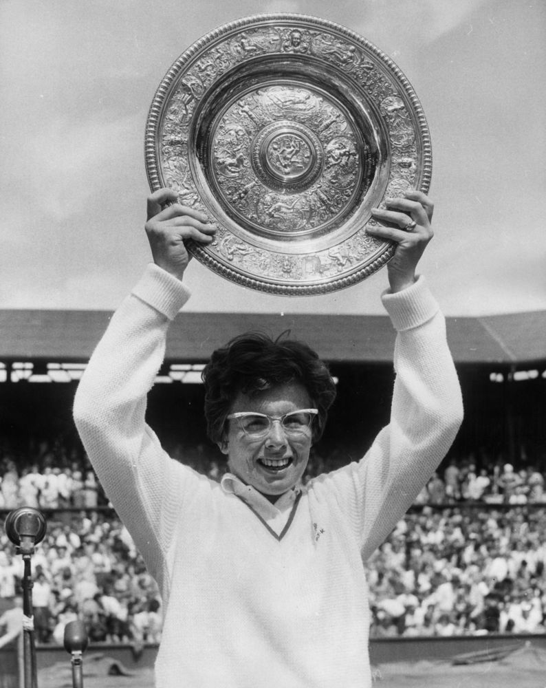 Billie Jean King b 1943 ranked number one in the world in