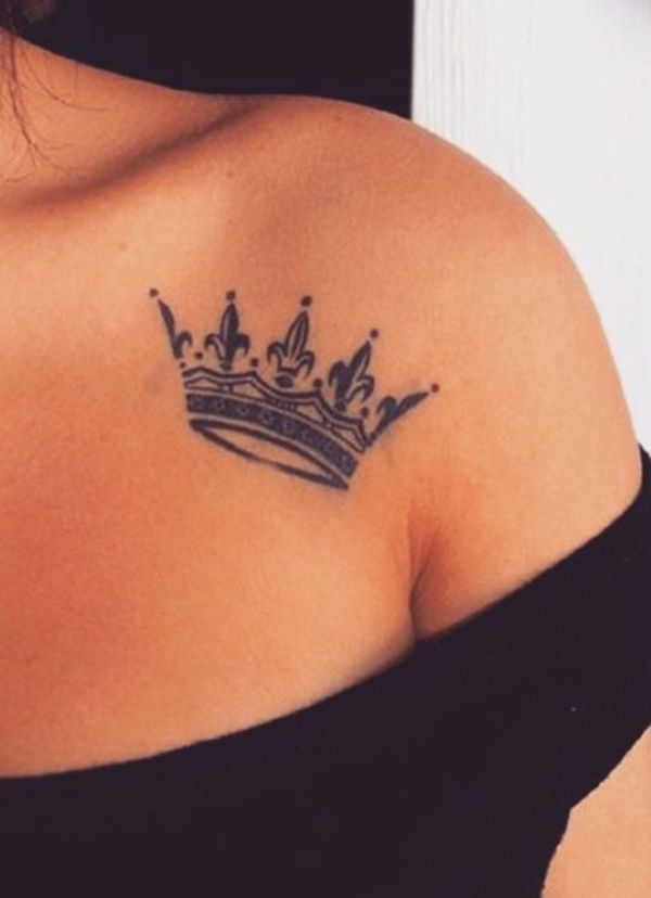 Photo of 101 Crown Tattoo Designs Fit for Royalty