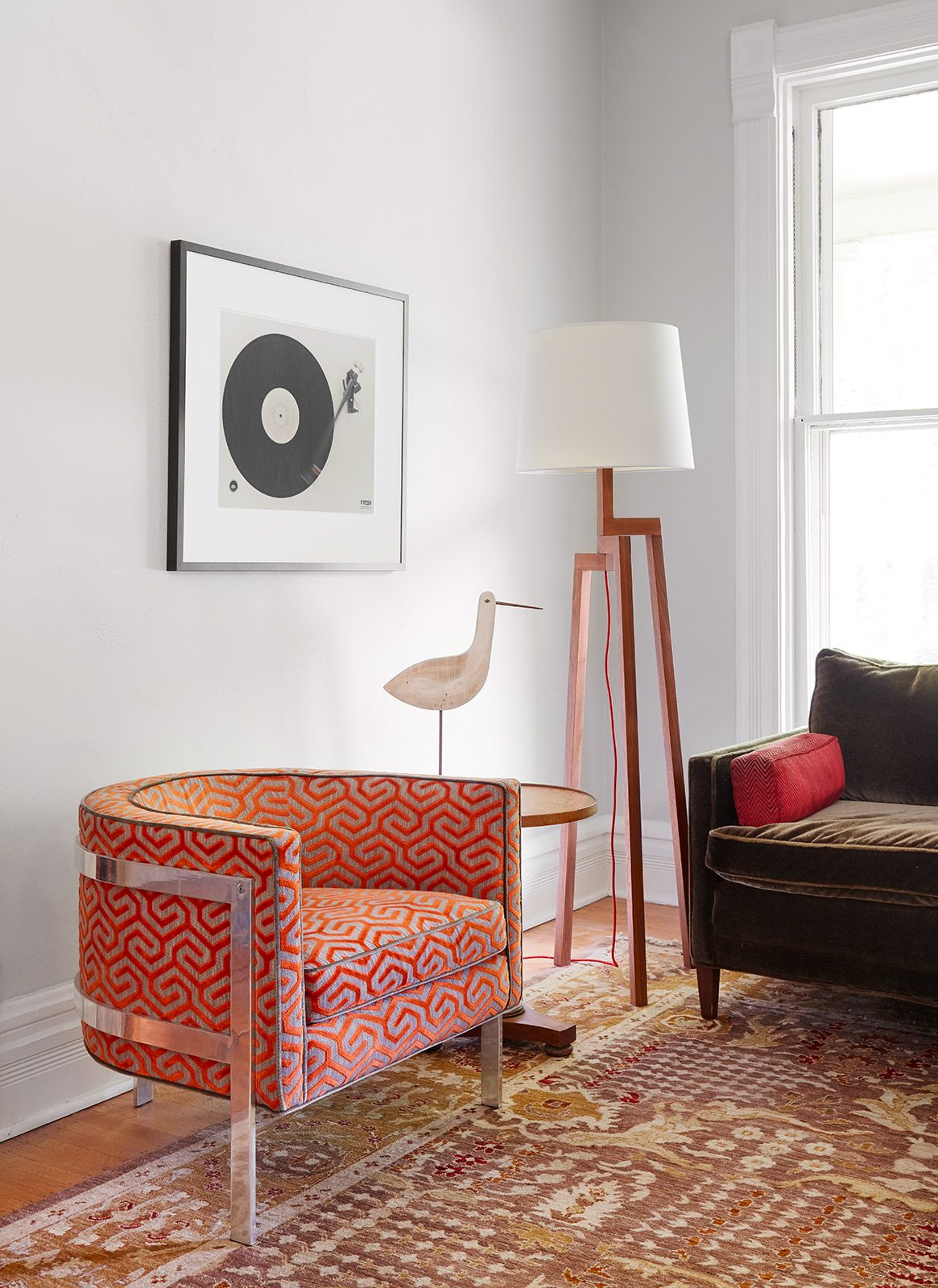 1960s Furnishings in an Historic 1880s Home | Rue | lighting ...