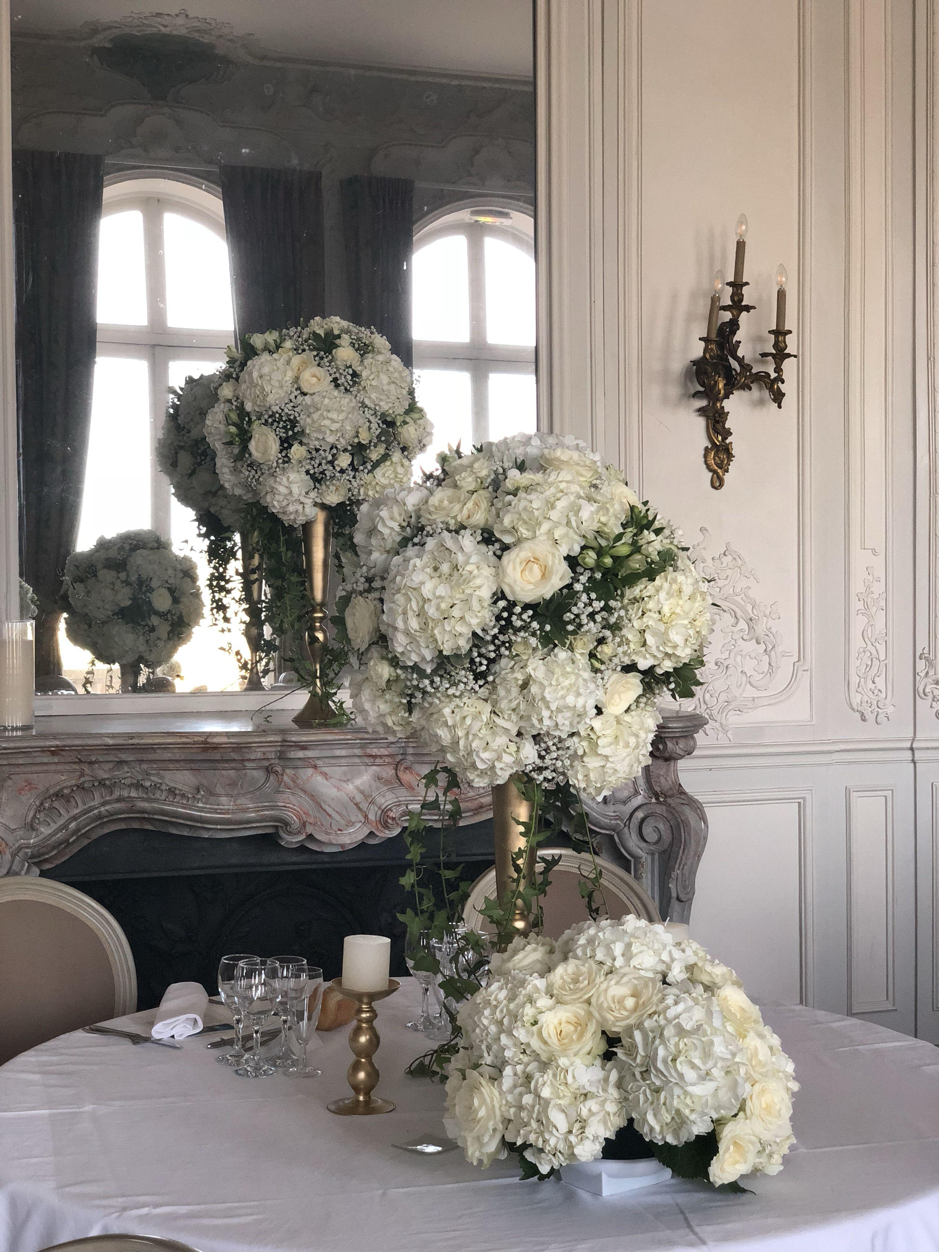 Deco Centre De Table les fleurs d'agrippine//centre de table des mariés. fleurs