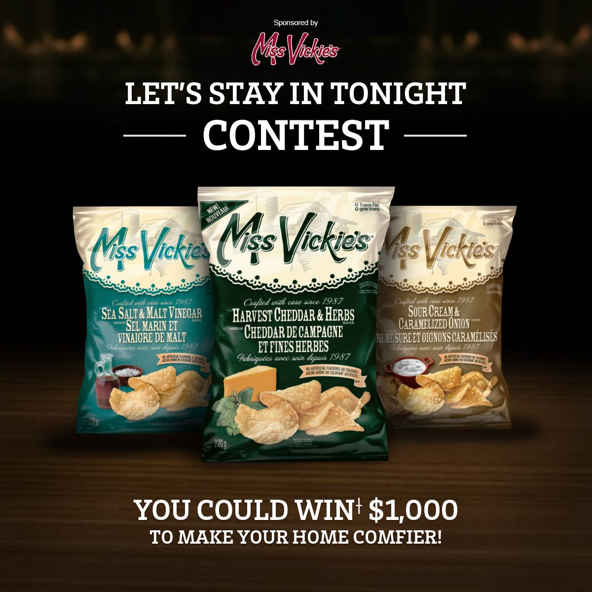 Let S Stay In Tonight Contest Contest Yummy Snacks Food