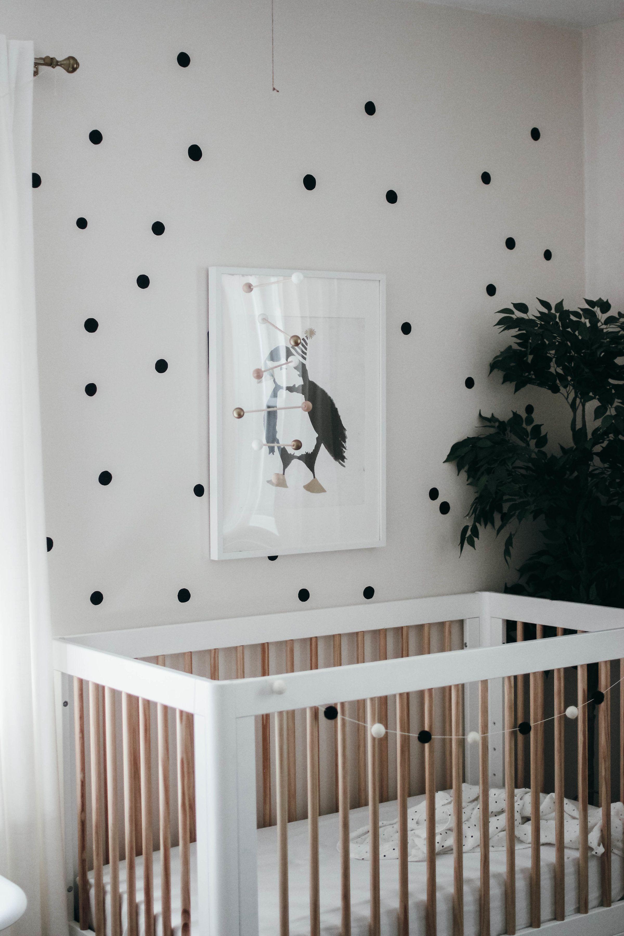 Black And White Nursery Inspo