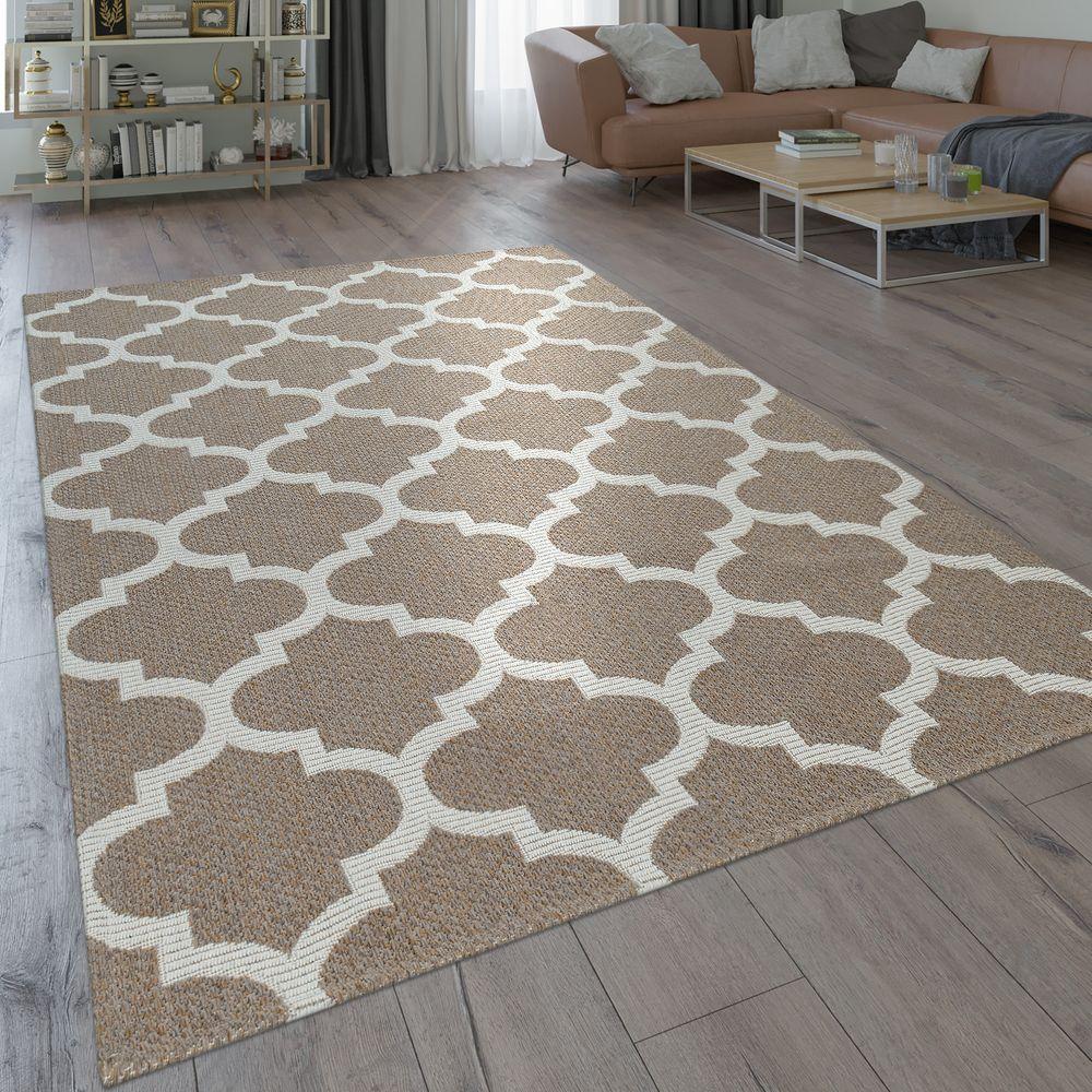 Teppich Orient Design Marokkanisches Muster Beige Teppich Teppich Orient Marokkanische Muster