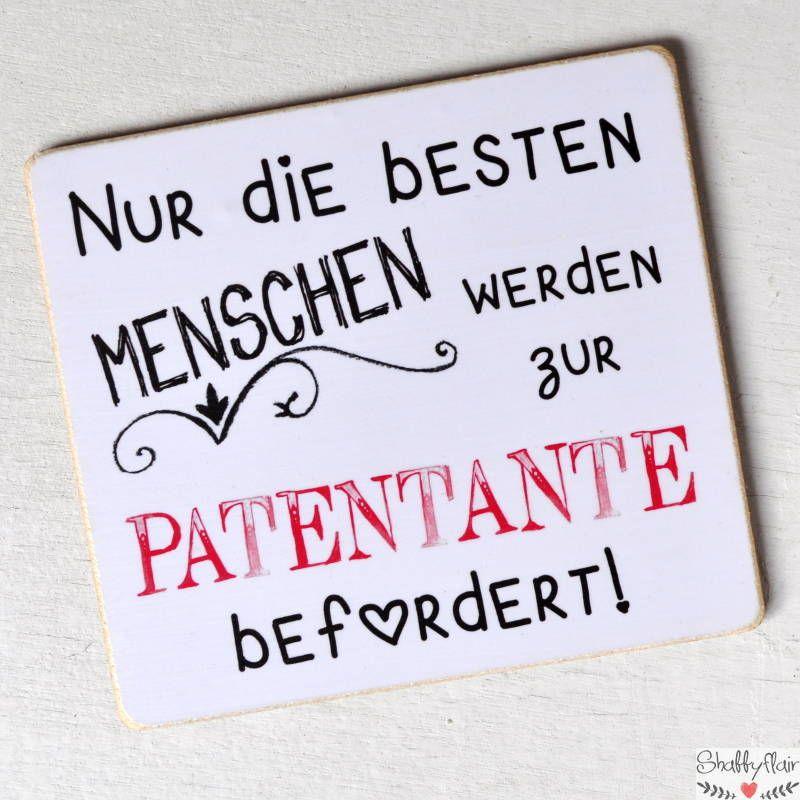 Magnet mit Spruch: Nur die besten Menschen werden zum Patent befördert!  – Geschenkideen für werdende Omas, Opas, Tanten, Onkels