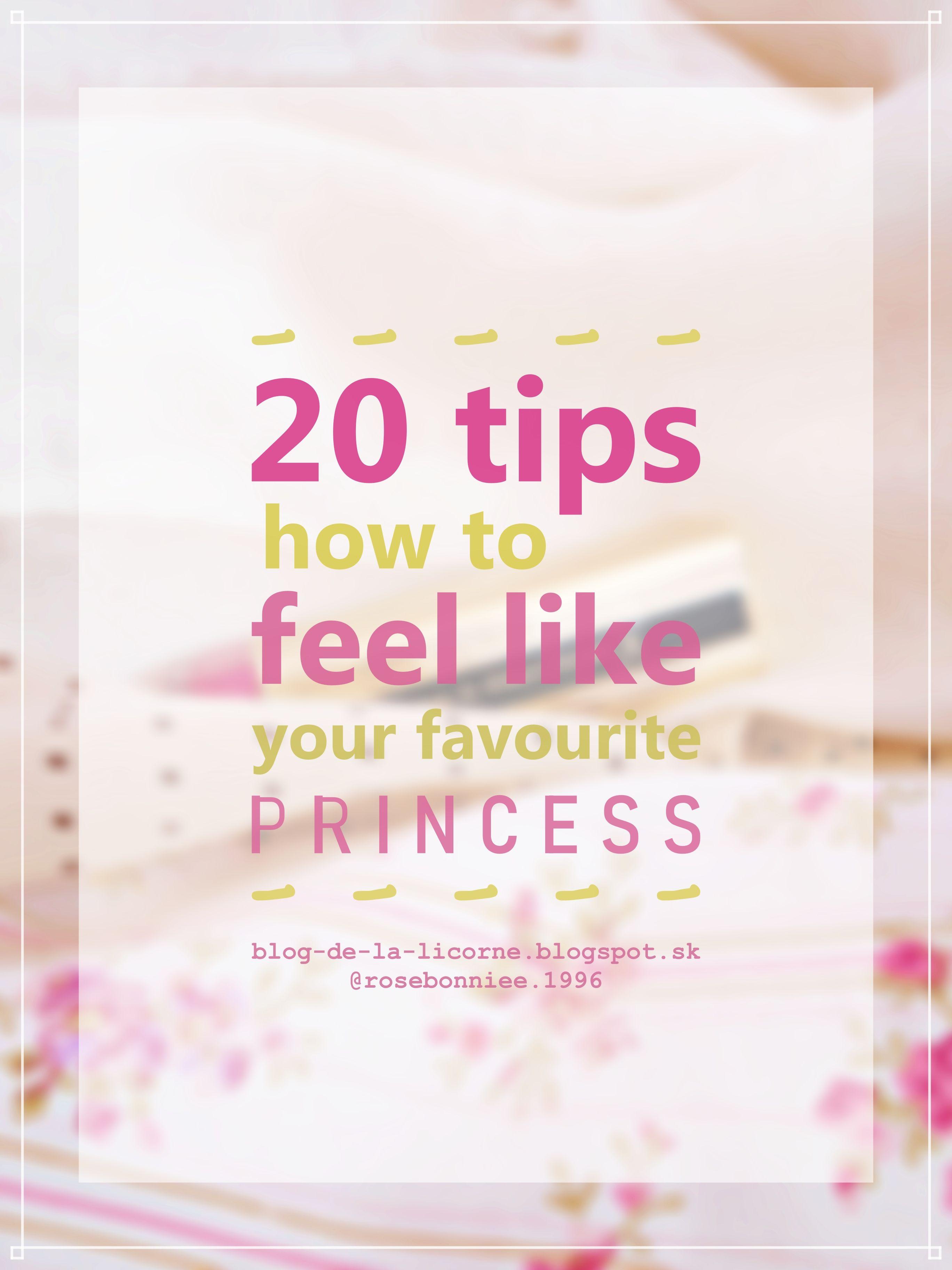 20 Tips How to Feel Like Princess 👸 | Blog de la Licorne | #blogdelalicorne #lifestyle #princess #howtofeellikeprincess #lifestyleblogger #tips #disney #disneyprincess #beauty #selflove #selfcare #inspiration #skincare #motivation #angelic #etheral