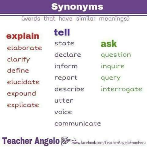 Synonyms   Linking words. Learn english. English for beginners
