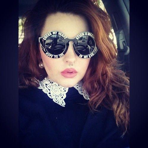 7a5876d535c Tess Holliday round sunglasses  UNIQUE WOMENS FASHION