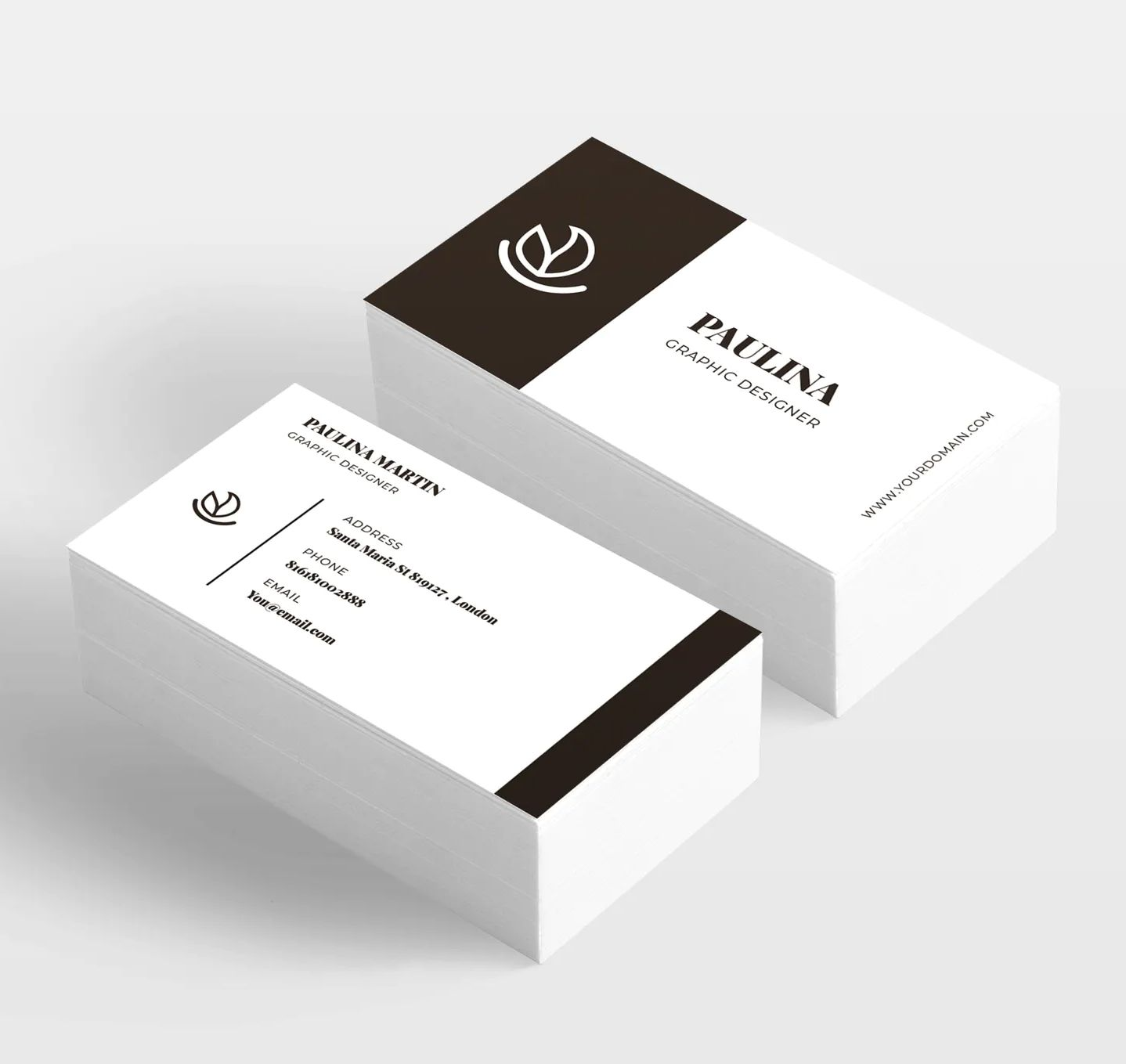 Business Card Template Vector Business Card Template Design Modern Business Cards Business Card Template